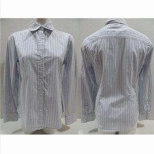 GAP Factory top Large button up striped oxford
